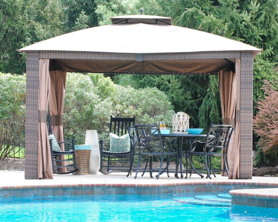 Gazebo design gazebo construction dubai uae - Swimming pool construction companies in uae ...